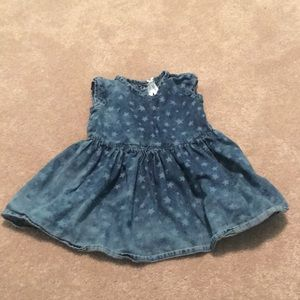Beautiful Girls Jean Dress 2T